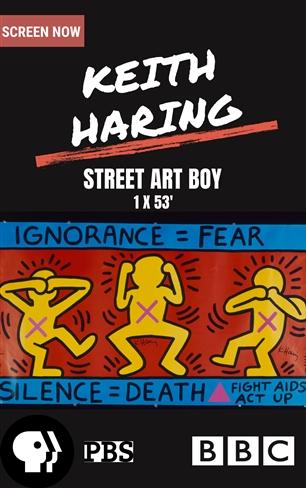 קית' הרינג: אמן רחוב