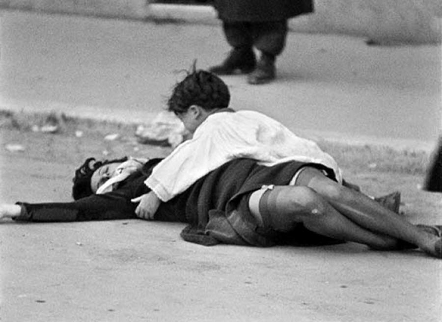 רומא עיר פרזות (רוסליני 1945) – דימוי הפוך של פייטה